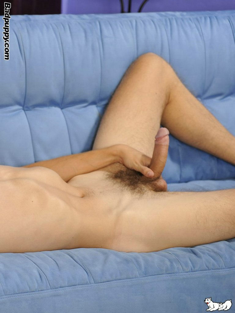 Badpuppy-Petr-Myska-Big-Uncut-Cock-lots-of-foreskin-17 Hot Amateur European Dude With A Big Uncut Cock And Hairy Ass Jerks Off