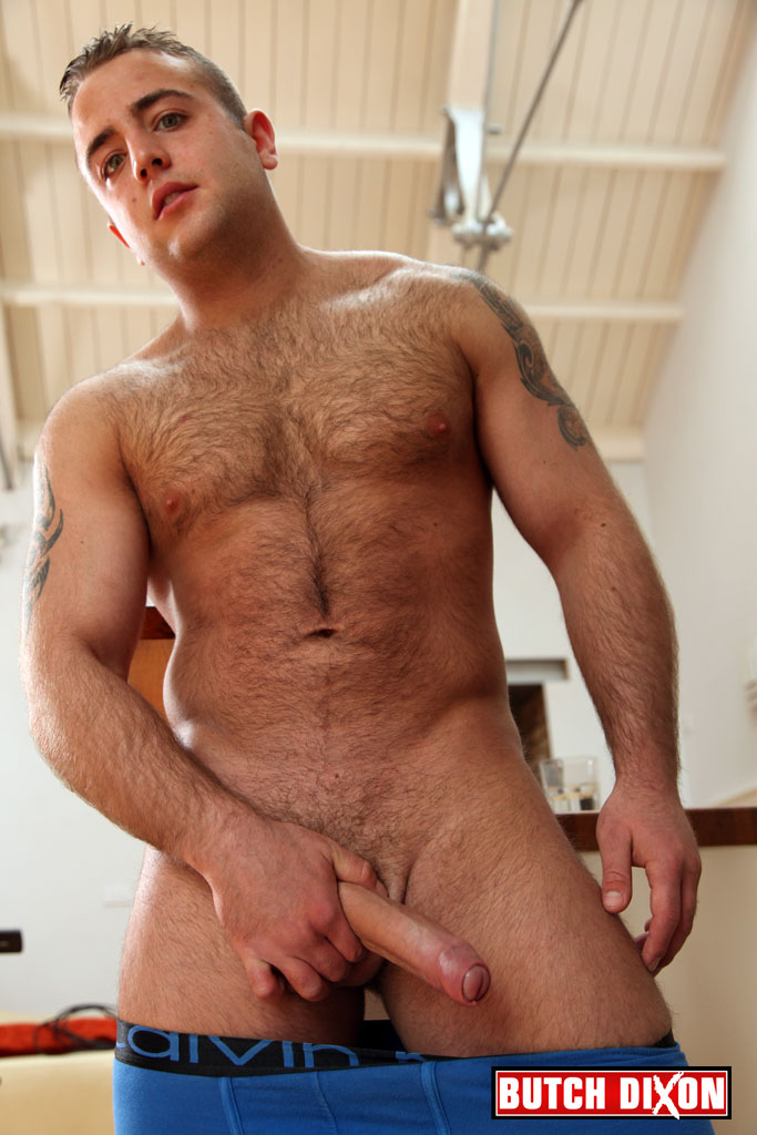 Butch-Dixon-Billy-Essex-Hairy-Cub-With-Big-Uncut-Cock-Jerking-Off-Amateur-Gay-Porn-09 Amateur Bisexual Young Hairy Cub Jerks Off His Huge Uncut Cock