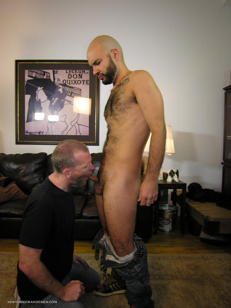 New-York-Straight-Men-Hairy-Straight-Puerto-Rican-Getting-Cock-Sucked-By-A-Guy-Amateur-Gay-Porn-05 Amateur Straight Hairy Puerto Rican Hottie Gets His First Guy Blowjob