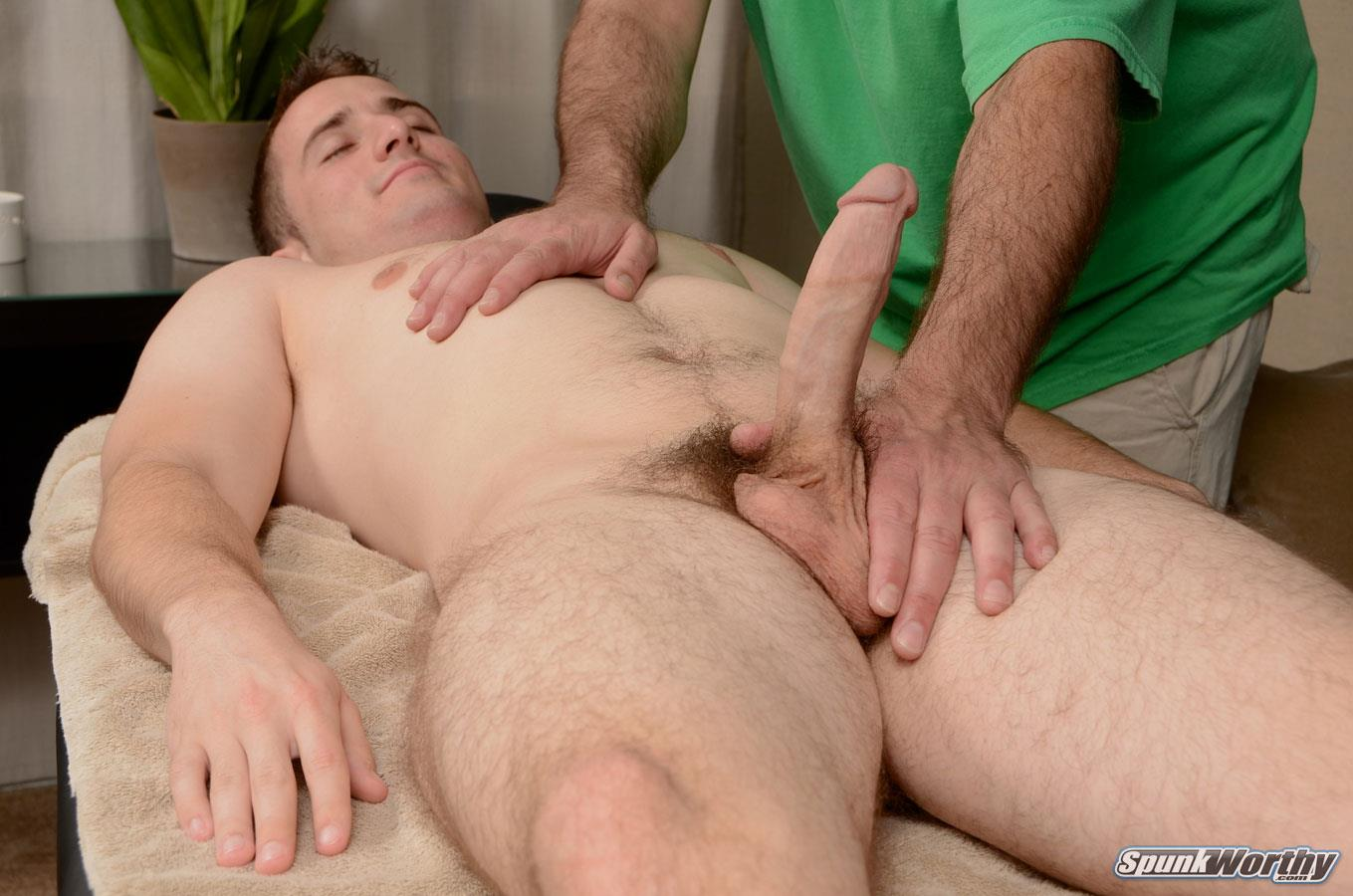 SpunkWorthy Jordan Staight College Baseball Player Getting Blowjob from a Guy Amateur Gay Porn 11 Straight College Baseball Player Gets A Massage And Happy Ending From A Guy