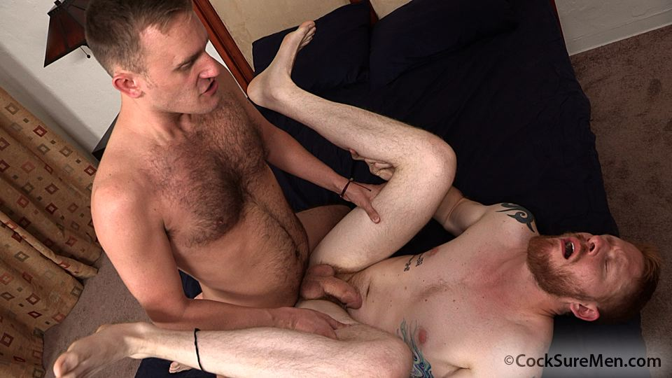 Cocksure-Men-Heath-Anthony-and-Devan-Bryant-Redhead-Gets-Barebacked-By-Hairy-Daddy-Amateur-Gay-Porn-11 Heath Anthony Barebacks Devan Bryant's Hairy Ginger Ass