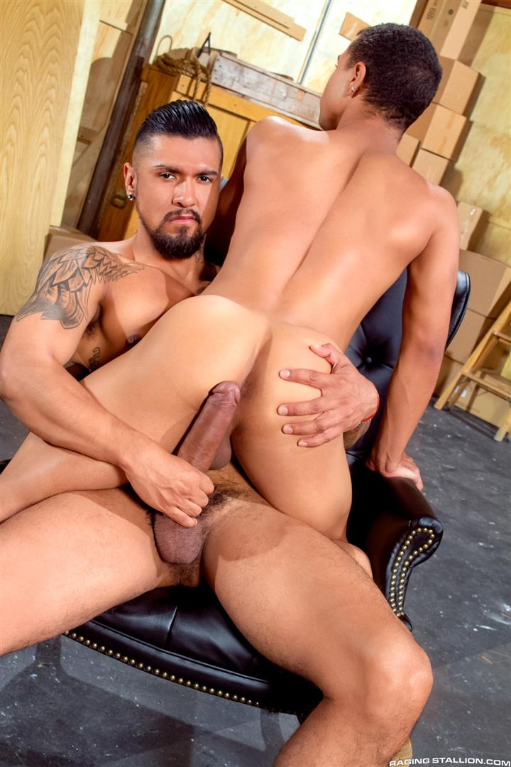 Raging Stallion Boomer Banks and Trelino Huge Uncut Cock Fucking A Black Ass Amateur Gay Porn 07 Young Black Guy Takes Boomer Banks Huge Uncut Cock Up The Butt