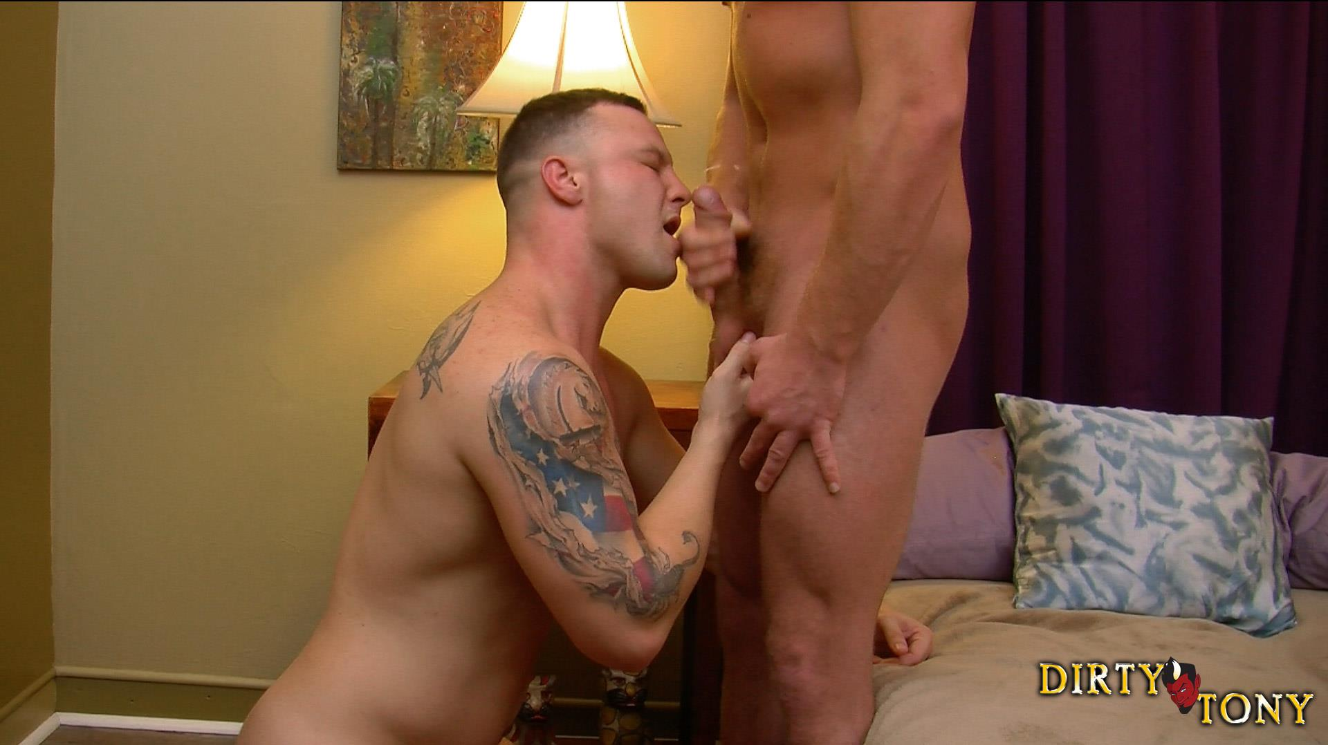 Dirty Tony Logan Blake and Connor Maguire Marine Getting Fucked In the Ass Amateur Gay Porn 15 Former US Marine Takes A Big Uncut Cock Up The Ass