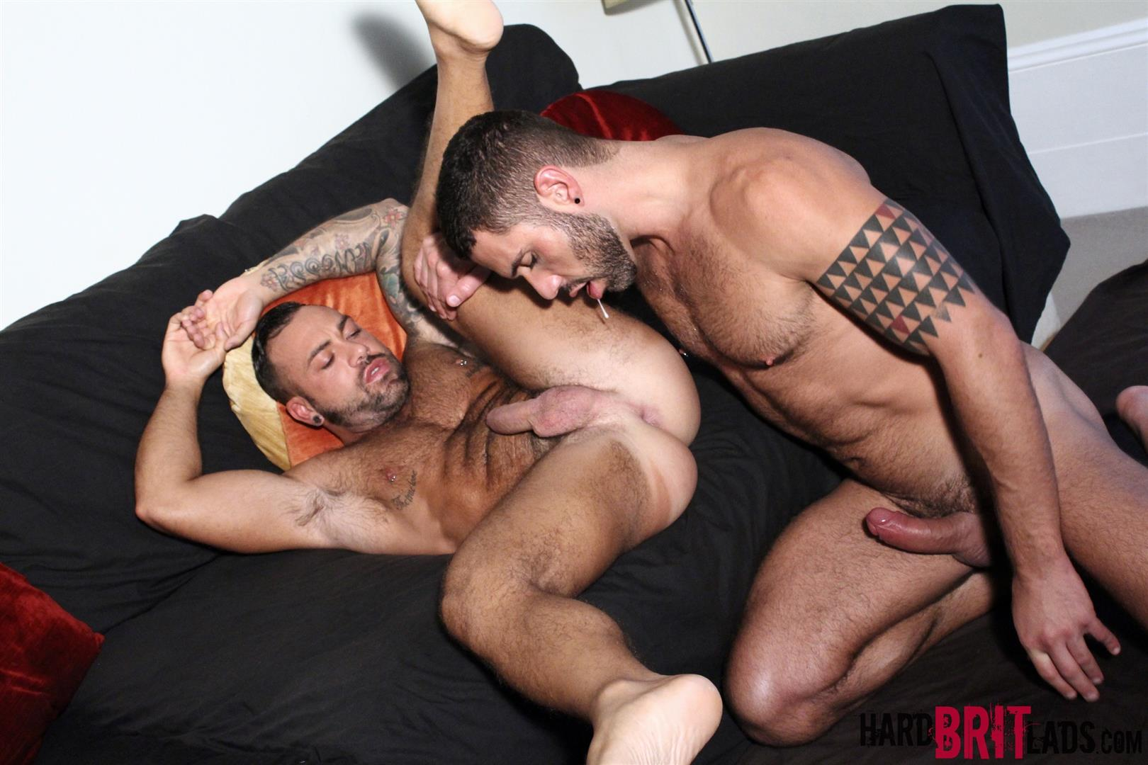 Hard Brit Lads Sergi Rodriguez and Letterio Amadeo Big Uncut Cock Fucking Amateur Gay Porn 14 Hairy British Muscle Hunks Fucking With Their Big Uncut Cocks