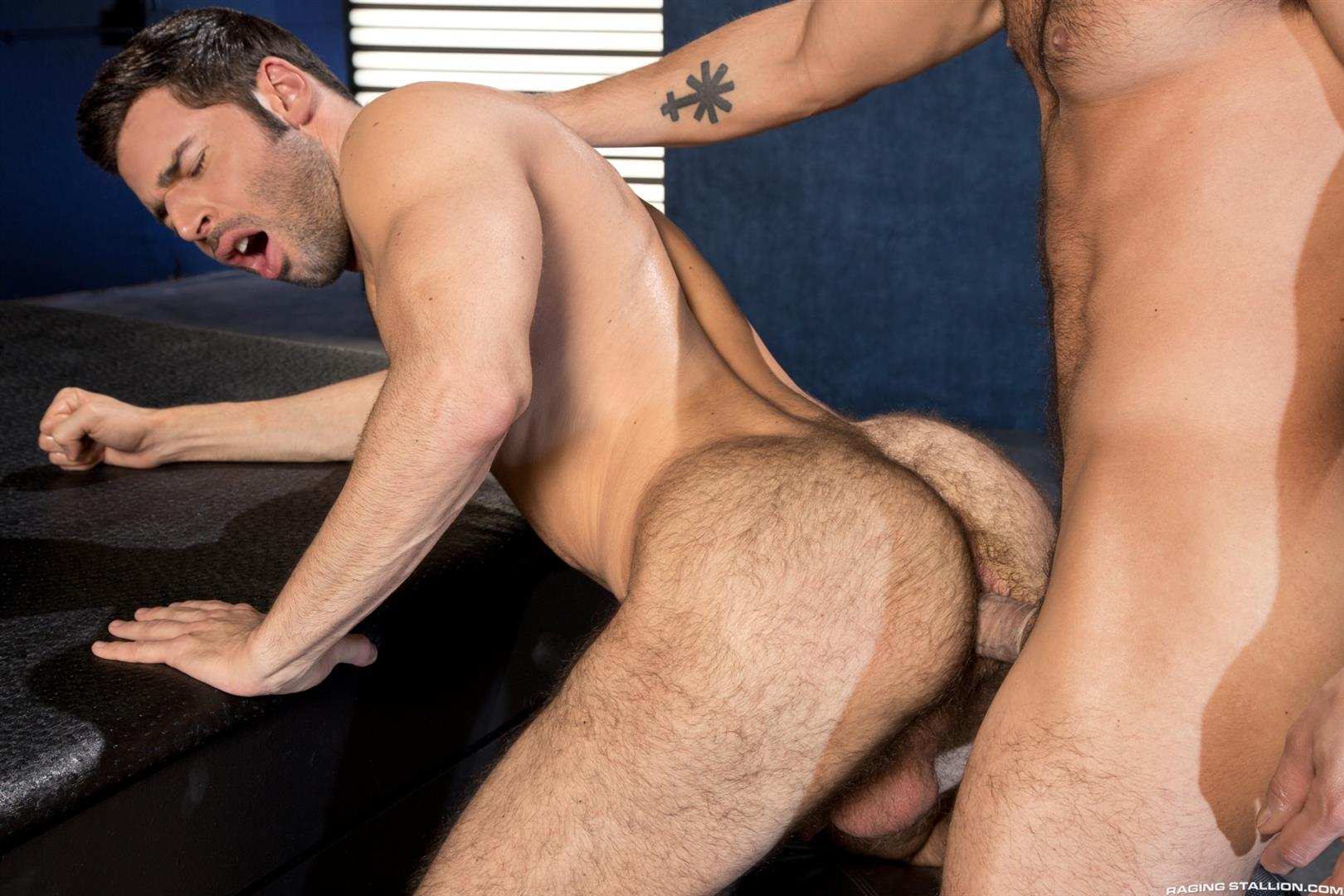 Raging Stallion Adam Ramzi and Dario Beck Hairy Ass And A Big Uncut Cock Amateur Gay Porn 13 Fucking A Hairy Ass Muscle Jock Ass With A Big Uncut Cock