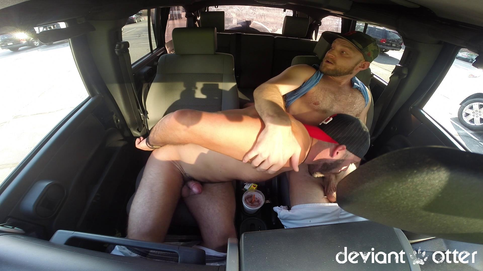 Deviant Otter Xavier Sucking Cock In Public Hairy Guys Amateur Gay Porn 14 Masculine Hairy Guys Sucking Each Others Cock In A Parking Lot