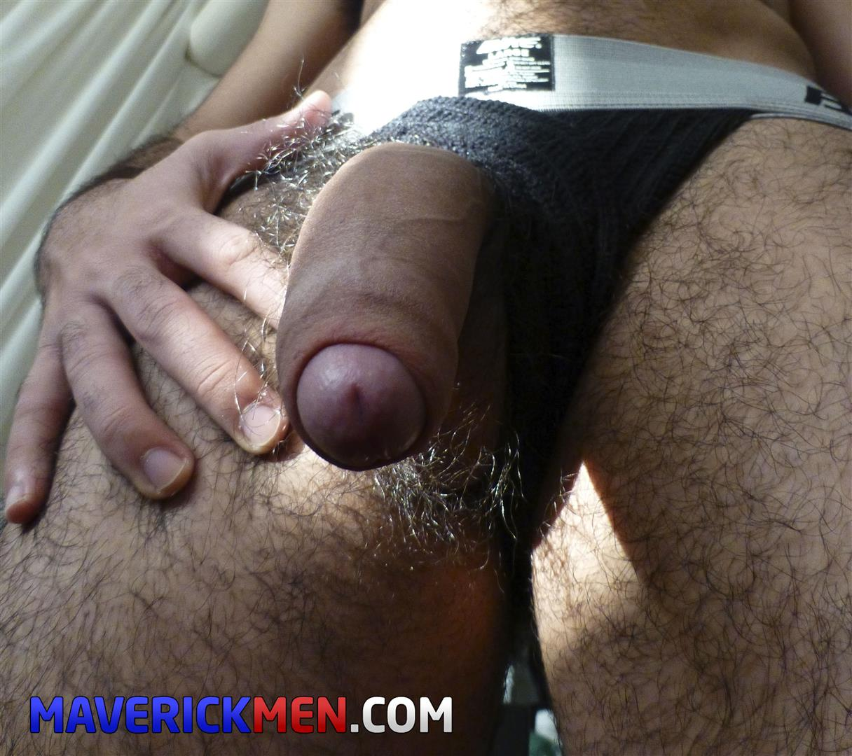 Maverick-Men-Little-Wolf-Hairy-Ass-Guy-With-A-Big-Uncut-Cock-Bareback-Amateur-Gay-Porn-01 Breeding A Young Guy With A Hairy Ass And A Big Uncut Cock