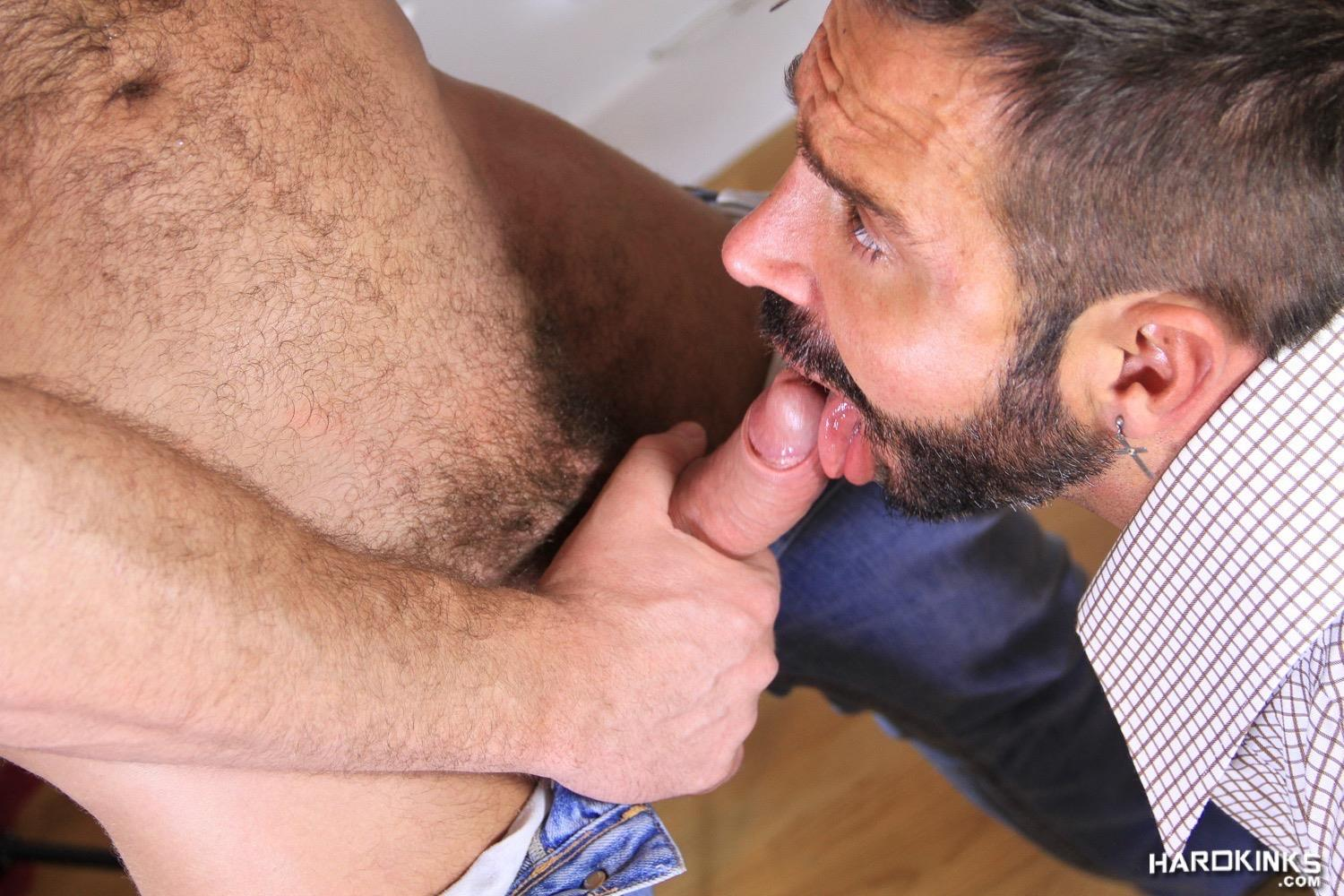 Hardkinks-Jessy-Ares-and-Martin-Mazza-Hairy-Alpha-Male-Amateur-Gay-Porn-26 Hairy Muscle Alpha Male Dominates His Coworker
